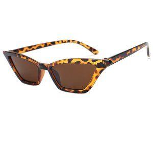 Cat Eye Y2K Eiffel 65 Aqua Vengaboys Sunglasses Acetate